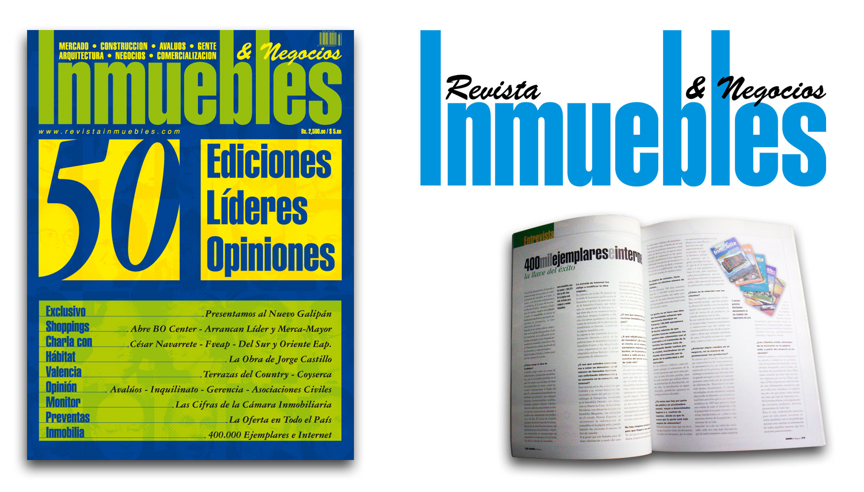 Revista Inmuebles & Negocios